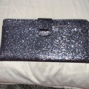 Black, blue, silver sparkle Wallet!